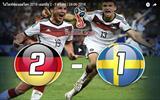 ไฮไลท์ฟุตบอลโลก 2018 เยอรมัน 2 - 1 สวีเดน