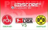 เนิร์นแบร์ก  VS  โบรุสเซีย ดอร์ทมุนด์ - จัดทีมเยือน