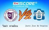 วิลล่า ดาลมิเน  VS Justo Jose de Urquiza - ตามเชียร์ทีมเหย้า