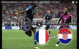 ฝรั่งเศส VS โครเอเชีย 4-2 Highlight 2018